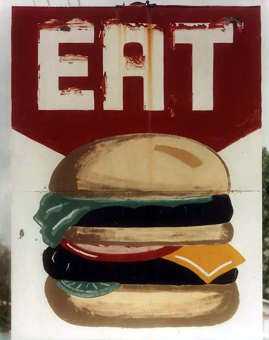 _Eat_ hamburger sign#9D3A